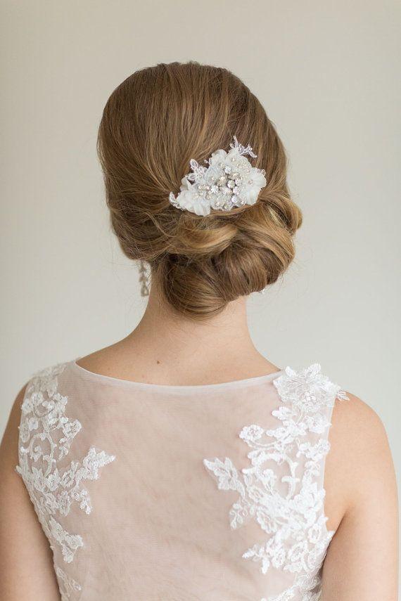 Brautfrisuren hochgesteckt schlicht  13 besten Frisur Bilder auf Pinterest | Brautfrisuren offen ...