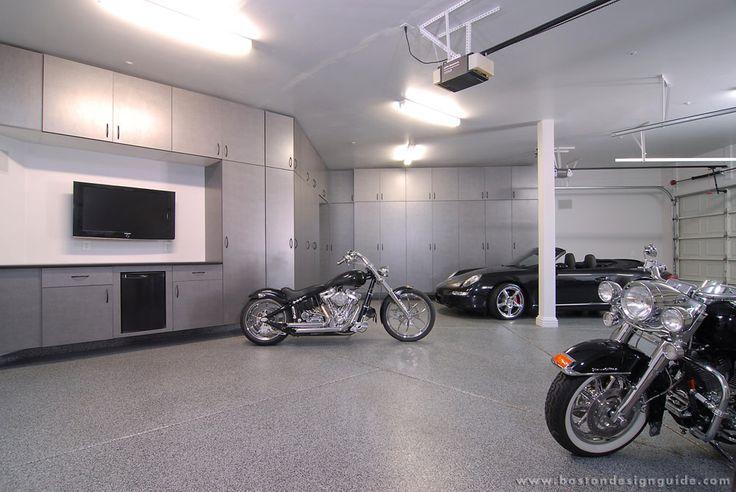 Boston Garage | Garage Flooring & Garage Storage Cabinets in Hanover, MA | Boston Design Guide