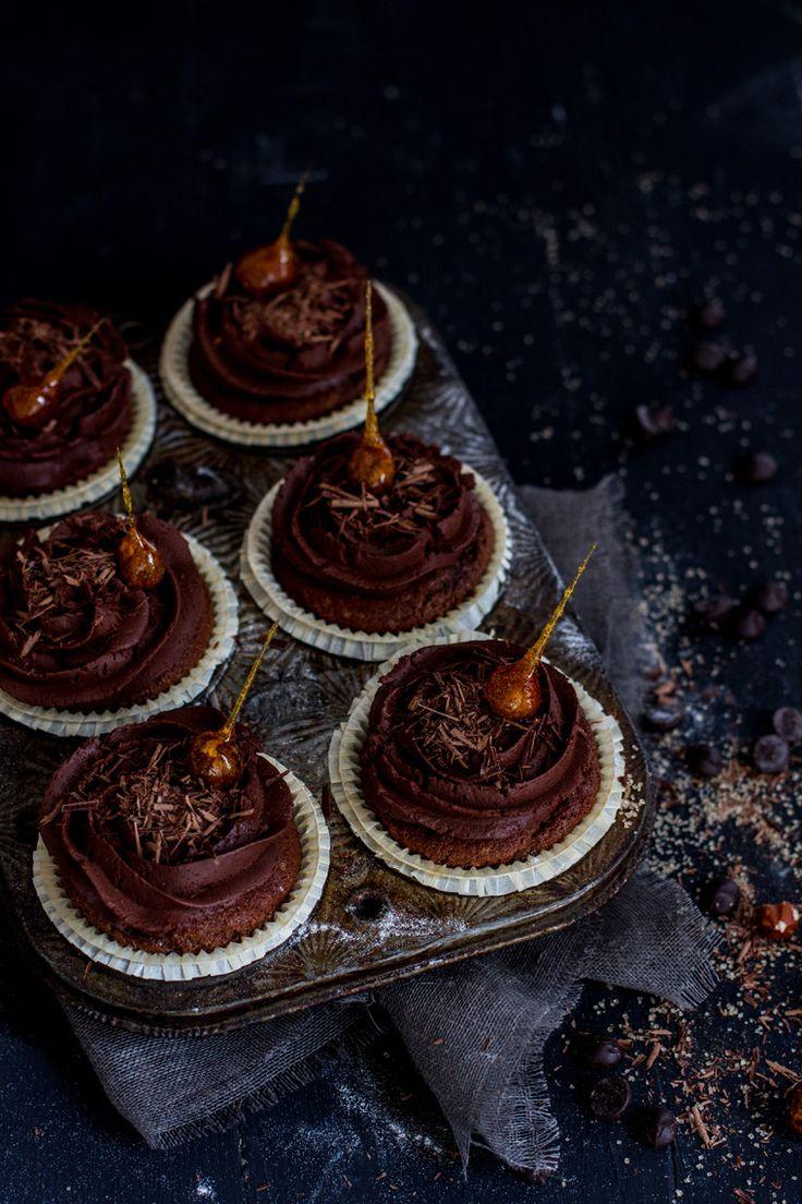 ... cupcakes noisettes-chocolat ...Haha nice
