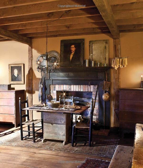 Early american country interiors tim tanner colonial for American country style interior design