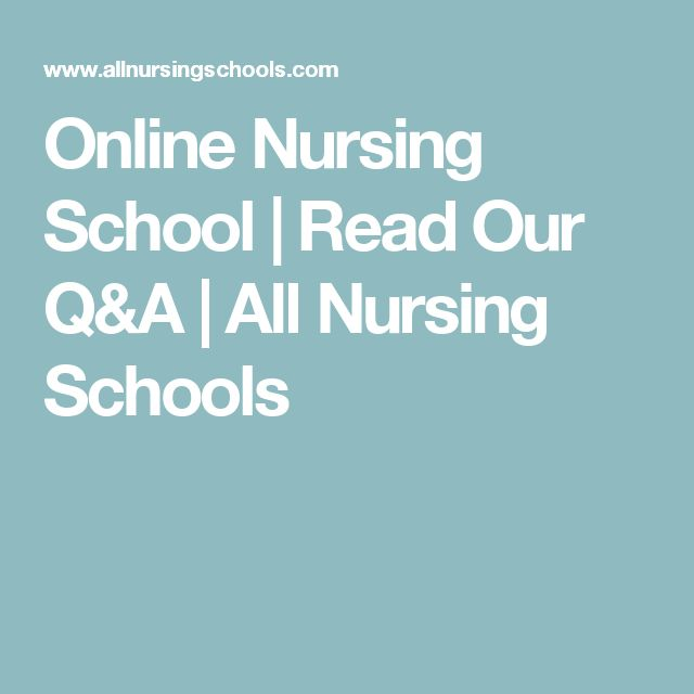 Online Nursing School | Read Our Q&A | All Nursing Schools