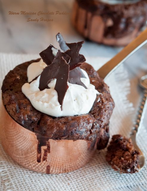 Warm Mexican Chocolate Pudding Recipe