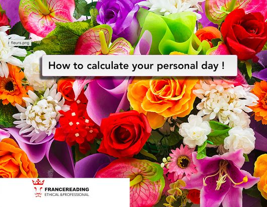 How to calculate your personal number ? That's an interesting piece of information!   The personal day is somehow a horoscope, but here we will talk about numbers.