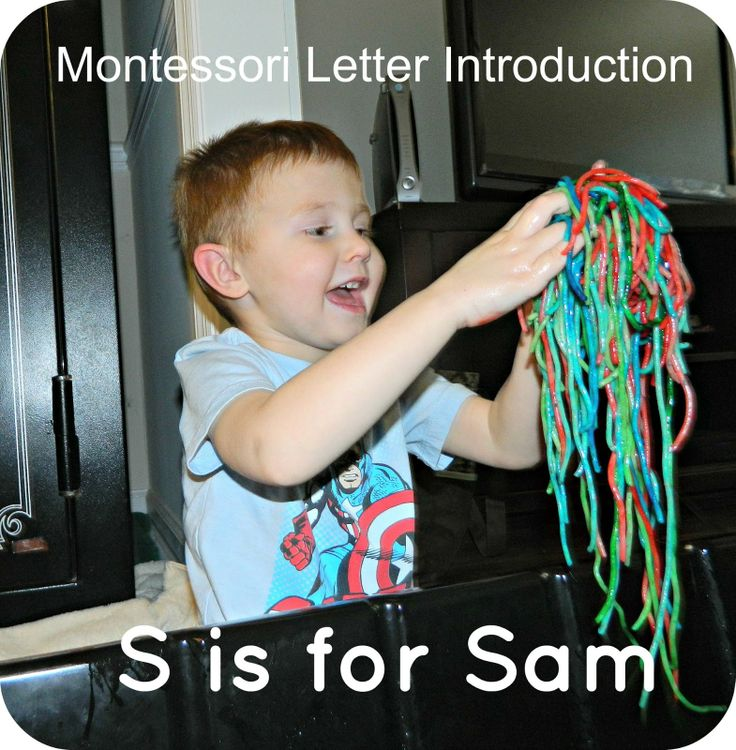 Montessori on a Budget blog Montessori Letter Introduction S is - letter of introduction