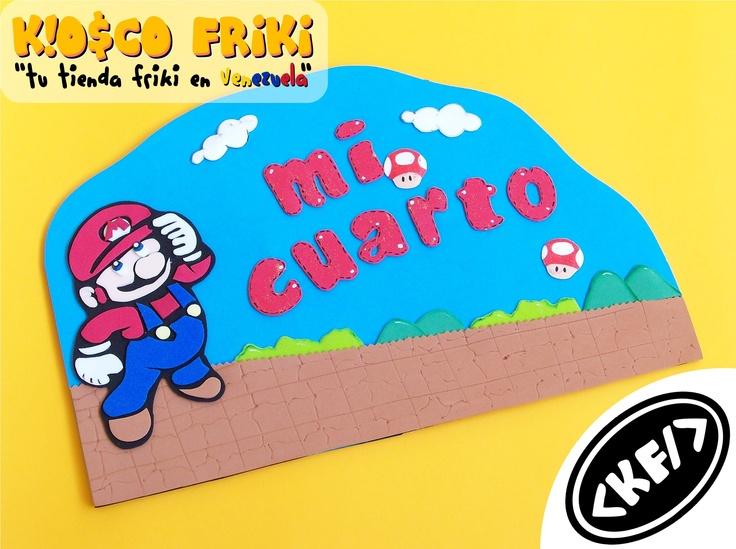 DecoGeek - Mario - Mi Cuarto (My Room)