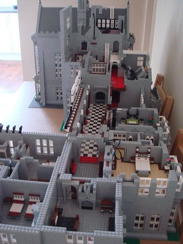 Mansion houses house interiors and mansions on pinterest - Lego house interior ...