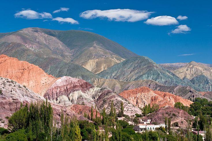 Cerro de los 7 Colores, Purmamarca, Jujuy, Argentina