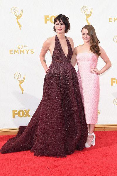 Lena Headey Photos - 67th Annual Primetime Emmy Awards - Arrivals - Zimbio