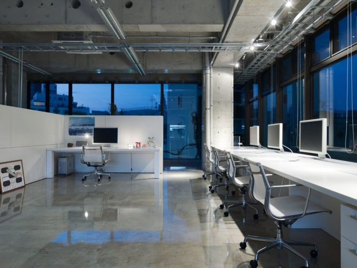 25 best ideas about open space office on pinterest open for Unique office layouts