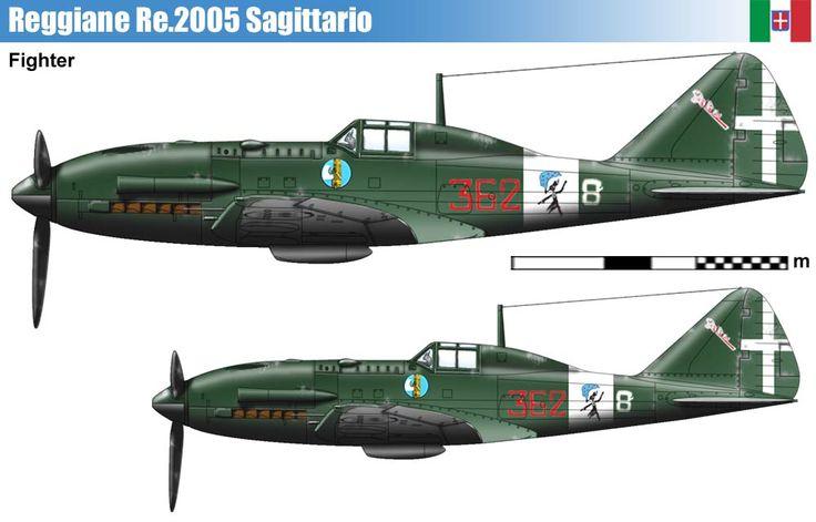 Reggiane RE 2005 Sagittario (1943).