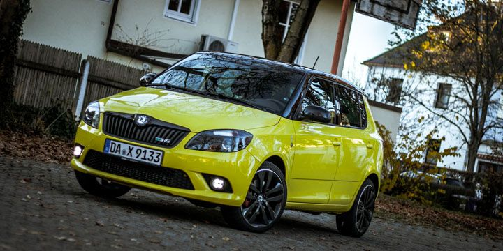 Škoda Fabia RS Test
