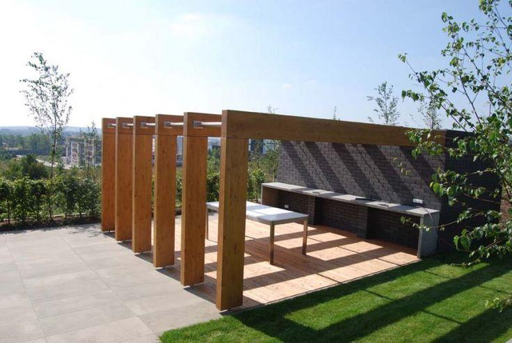 ogród minimalistyczny, ogród nowoczesny, ogród współczesny