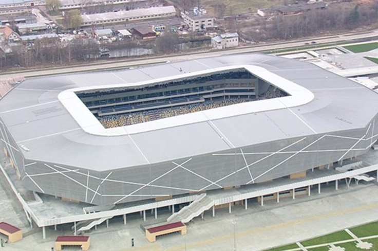 Nuevo estadio de Lviv (30.000 espectadores) - Ingrid Irribarren.