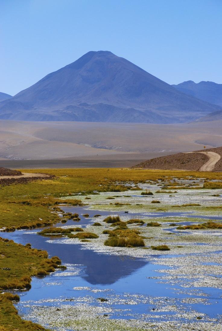 Volcano near San Pedro de Atacama, Chile.