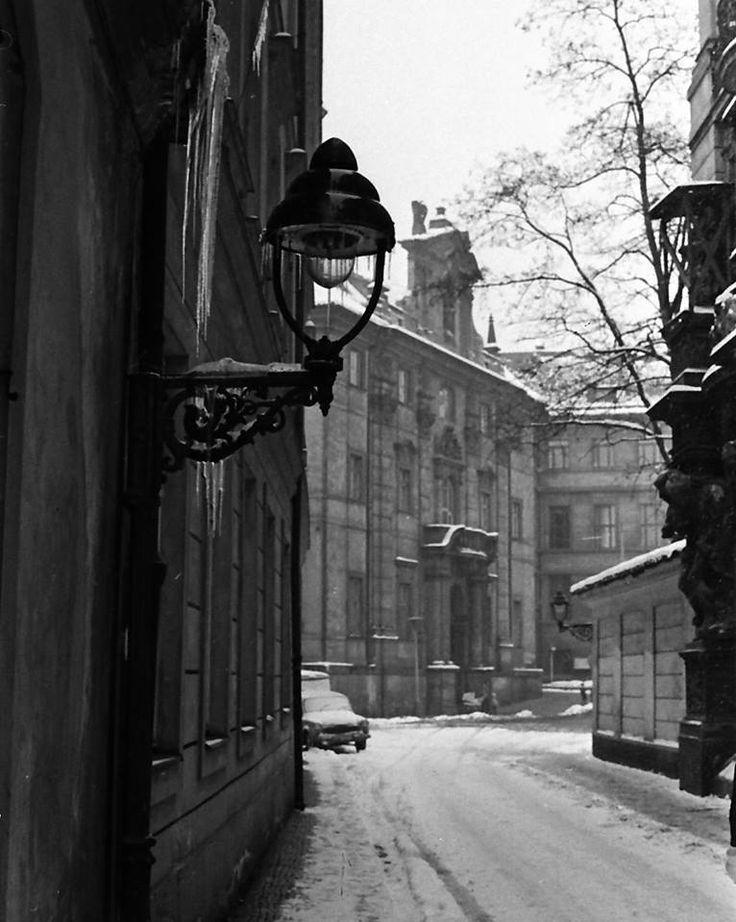Plynové lampy u Mariánského náměstí, 60´Foto: Dušan Neumann