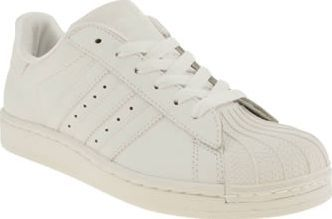 Adidas White Superstar Ii Unisex Youth Trainers perfect for the Superstar in you from adidas. The original 70s basketball shoe arrives downsized to keep smaller feet nice and comfy in legendary style. An all-white colourway with shell toe  http://www.comparestoreprices.co.uk/january-2017-8/adidas-white-superstar-ii-unisex-youth.asp