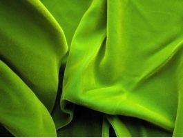 Cotton Velvet Green Citrus