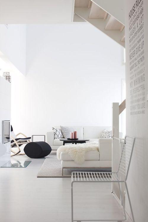 #KOLORAT #Wandfarbe #Wandgestaltung #Weiß #Wohnzimmer