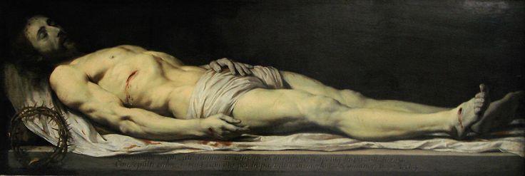 Le Christ mort couché sur son linceul,1654. Museo del Louvre,Paris.