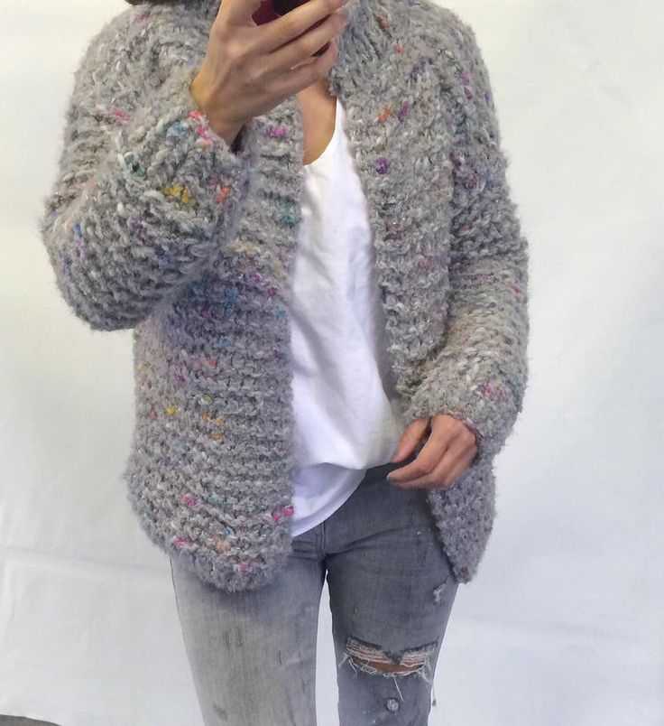 Chunky Kiro by Kim handknitted coat
