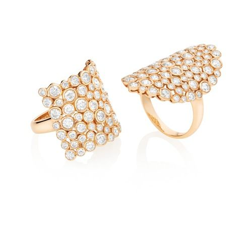 Casato Roma Gioielli: 18kt Rose Gold rings with diamonds