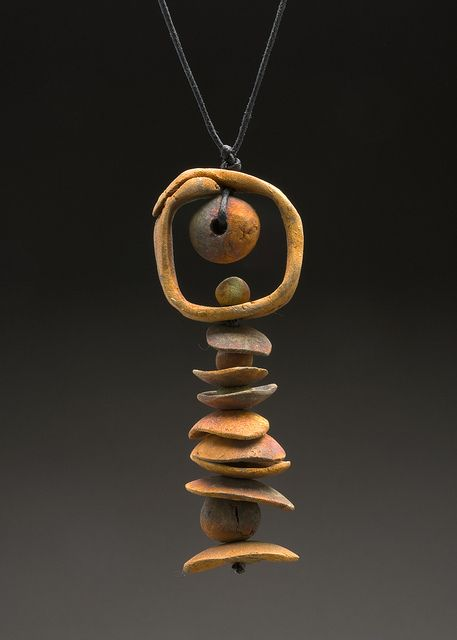 "Pendant | Denise Reith.  ""Of the Earth"".  Metal Clay Gallery (group)"