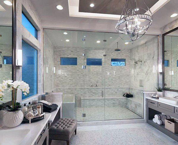 Top 60 Best Master Bathroom Ideas Home Interior Designs Bathroom Design Luxury Modern Master Bathroom Luxury Master Bathrooms