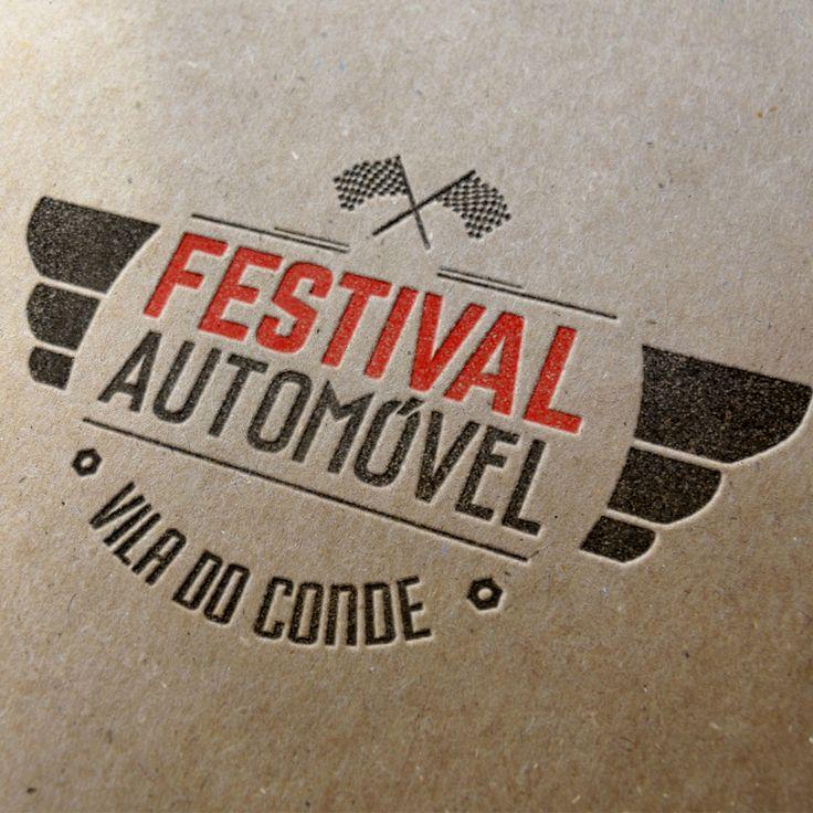 Este é o logótipo criado para o Festival Automóvel de Vila do Conde