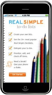 Real Simple 'To Do Lists' App #real #simple