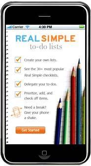 real simple app