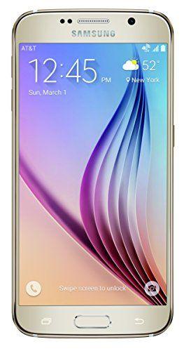 Samsung Galaxy S6, Gold Platinum 128GB (AT&T) - http://www.topcellulardeals.com/?product=samsung-galaxy-s6-gold-platinum-128gb-att