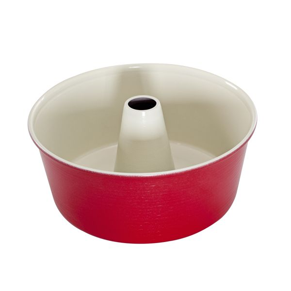 Aluminowa forma na ciasto angel food - Nordic Ware - czerwona. #bakeshop #kuchnia #angelfood #forma www.bake-shop.pl #angelfood www.bake-shop.pl #pieczenie #baking #forma #kitchen #akcesoria #nordicware