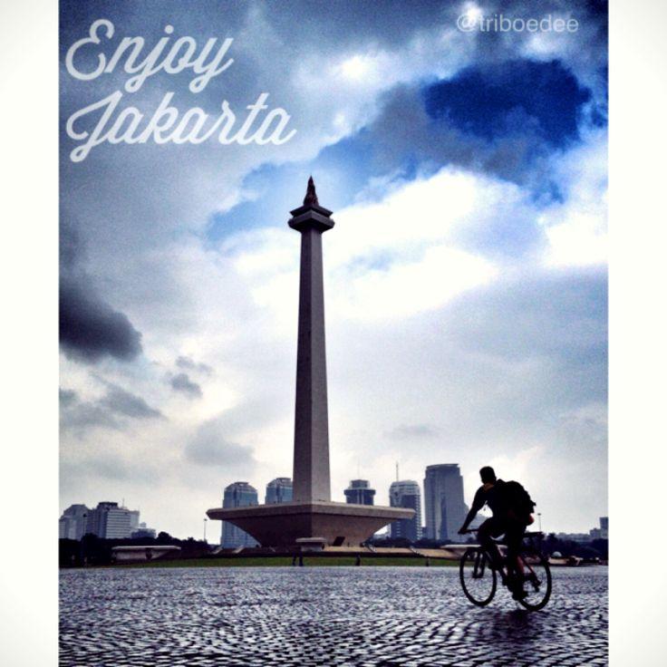 Enjoy Jakarta #monas #indonesia