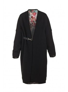8MN Sweater Coat with Buckle. Buy @ http://thehubmarketplace.com/Sweater-Coat-with-Buckle