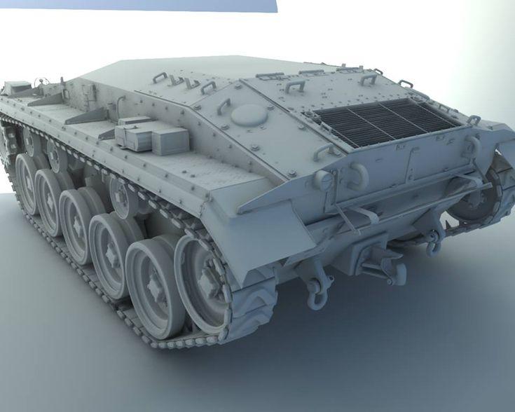 M24 Cheaffee - Work in progress   Freelancers 3D