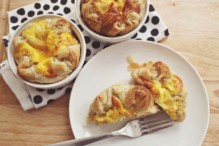 beautiful mess - Easy Mini Quiches made using puff pastry