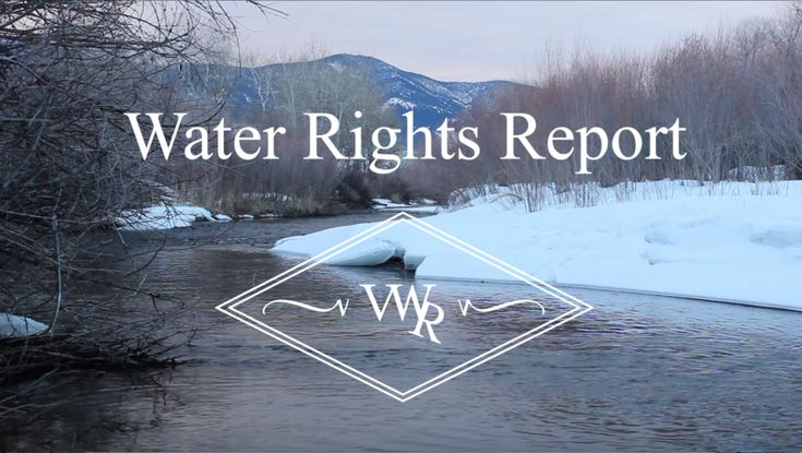 Understanding Montana water rights you possess or look to possess in the future is critical. Montana water rights will only continue to appreciate making them a valuable investment as well as a necessity for any Montana ranch or farm. This report is to help you better understand your water rights in Montana.