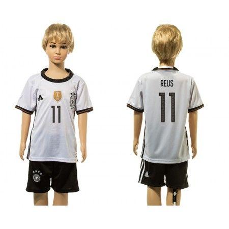 Tyskland Trøje Børn 2016 #Reus 11 Hjemmebanetrøje Kort ærmer.199,62KR.shirtshopservice@gmail.com