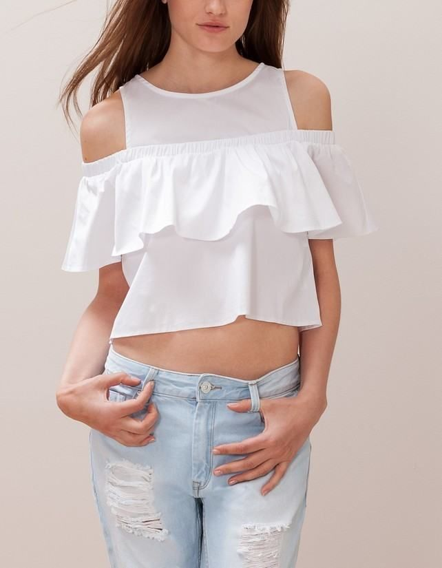 Blusas Open Shoulder, la nueva tendencia primaveral