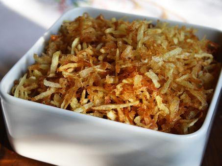 Sabor Brasil - Ricette - Patata paglia (Batata palha)