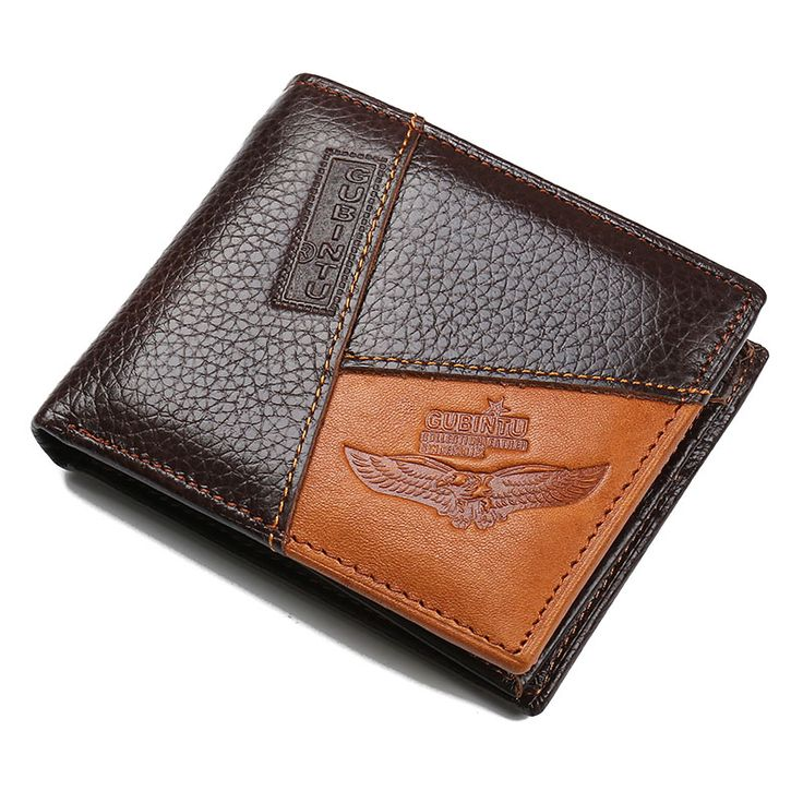 GUBT Wallet Men Genuine Leather Men Wallets Purse Short Male Clutch Leather Wallet Thin Men Purse Coin Pocket Carteira Masculina