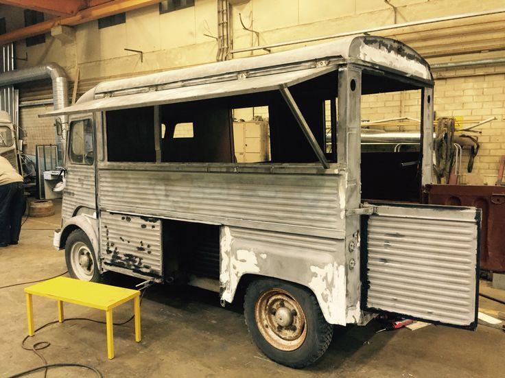 Looks like it will work. Citroen HY food truck.