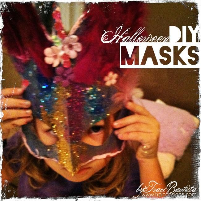 DIY Halloween Costume : DIY Masquerade masks  DIY Halloween