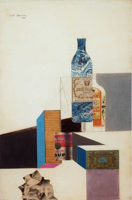 Xanti Schawinsky, Untitled (Campbell's Soup), 1946
