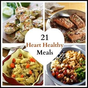 13 best heart healthy images on pinterest healthy eating habits heart healthy meals roundup forumfinder Choice Image