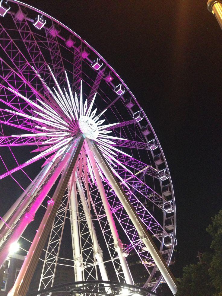 centennial park Ferris wheel. Atl.