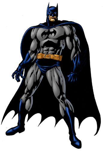 batman.......darker, more menacing. If superman was the day, then he was the night. Almost mysterious, a darker soul, and yet exciting....and of course the real hero was always Gotham City...dark and murky