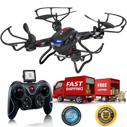 Great UAV Drone RC Quad With Camera Easy To Fly New  This UAV Drone RC Quad With Camera is a great quadcopter to learn on. The UAV Drone RC Quad With Camera for advanced flyers this quad has a fairly slow yaw, so it's ability in the turns is no...