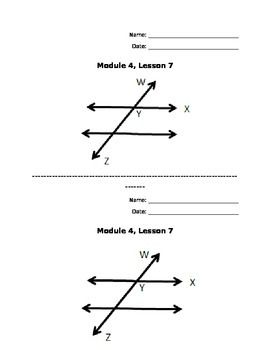 New York Common Core Math Grade 4: Module 4, Lesson 7
