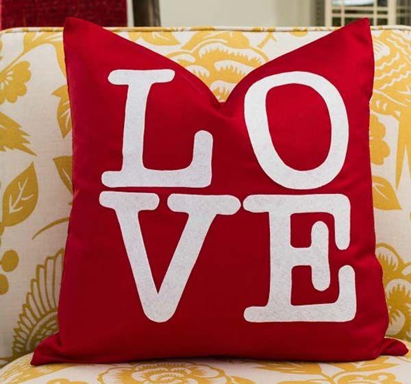 Cojines personalizados para San Valentín